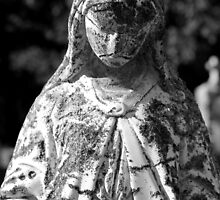 Saint Mary 1 Black and White by marybedy