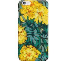 Yellow marigolds  iPhone Case/Skin