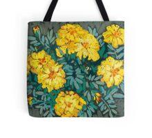 Yellow marigolds  Tote Bag