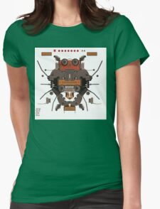 The robobugs guitar Womens Fitted T-Shirt