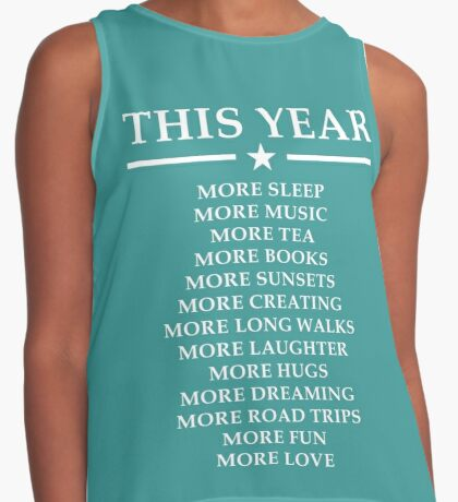 NEW YEAR Contrast Tank