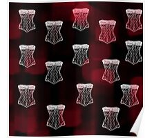Corset pattern Poster
