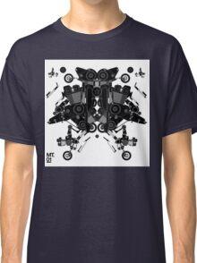 black motorbike robot 1 Classic T-Shirt