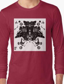 black motorbike robot 1 Long Sleeve T-Shirt