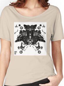 black motorbike robot 1 Women's Relaxed Fit T-Shirt