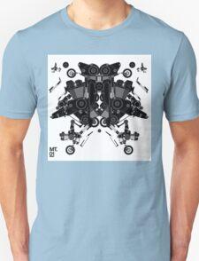 black motorbike robot 1 Unisex T-Shirt