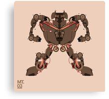 motorbike robo 1 Canvas Print