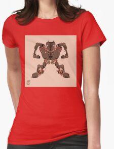 motorbike robo 1 Womens Fitted T-Shirt