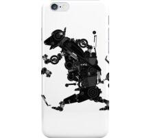 black motorbike robo 2 iPhone Case/Skin