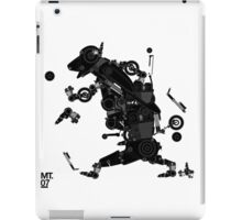 black motorbike robo 2 iPad Case/Skin