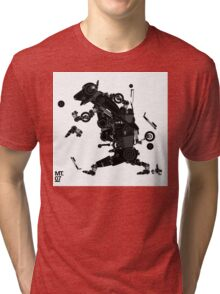 black motorbike robo 2 Tri-blend T-Shirt