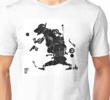 black motorbike robo 2 Unisex T-Shirt