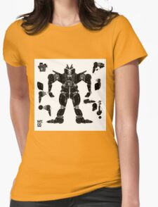motorbike robo 3 Womens Fitted T-Shirt