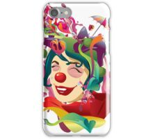 sometimes happiness is fake iPhone Case/Skin