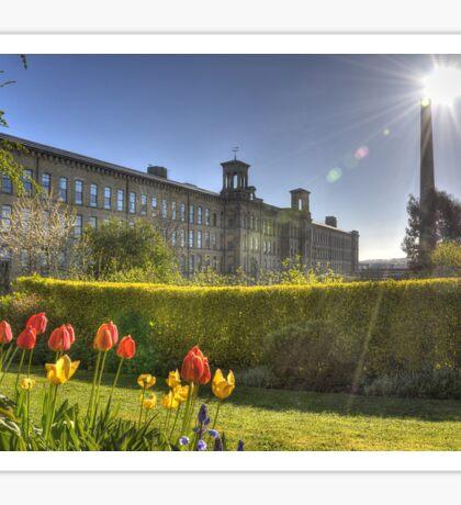 Tulips at Salts Mill Sticker