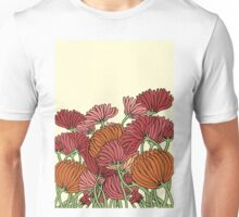 The Retro Garden Flowers Unisex T-Shirt
