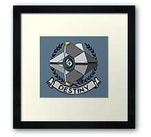 destiny ghost ensignia Framed Print