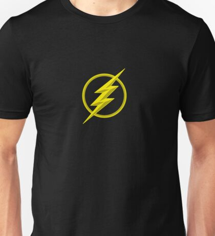 The Lighning Flash Speedster Sign Unisex T-Shirt