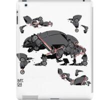 Animal robots iPad Case/Skin