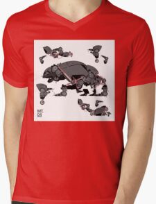Animal robots Mens V-Neck T-Shirt