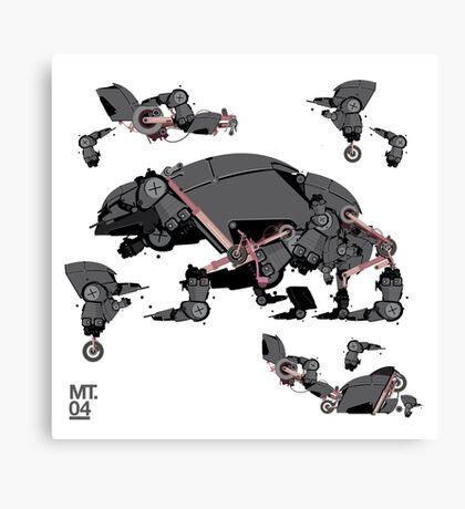 Animal robots Canvas Print