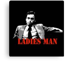Ted Bundy Is A Ladies Man Canvas Print