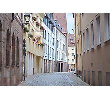 Quiet Empty Street Photographic Print