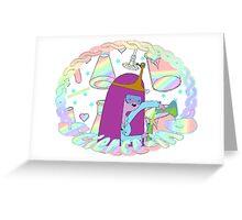 Princess Bubblegum Science-ing! Greeting Card