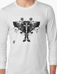 blackbird motorbike robo Long Sleeve T-Shirt