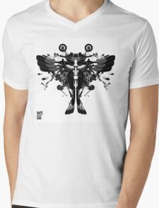 blackbird motorbike robo Mens V-Neck T-Shirt
