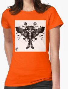 blackbird motorbike robo Womens Fitted T-Shirt