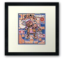 hip hop yo! Framed Print