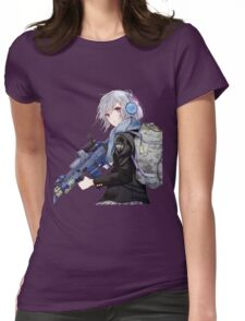 anime RBG Womens Fitted T-Shirt
