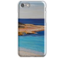 Tranquil Morning Swim at Salmon Beach iPhone Case/Skin