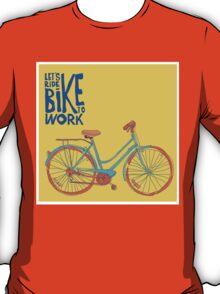 Bike to work T-Shirt