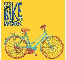 Bike to work by singpentinkhepi