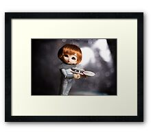 Elfin Acting Ensign Framed Print