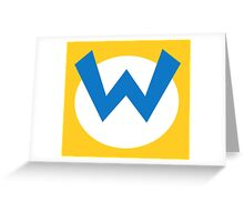 Wario! Greeting Card