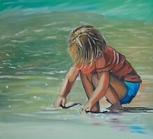 Sand Play by Jen  Biscoe