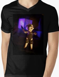 .5 of 9 Mens V-Neck T-Shirt
