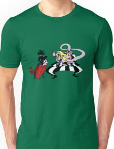 Beetlejuice - Lydia & Beetlejuice Group 04 - Making Faces Unisex T-Shirt