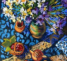 Calendar With Still Life in Pastel. by kira-culufin