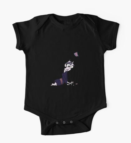 Beetlejuice - Lydia with Cat One Piece - Short Sleeve