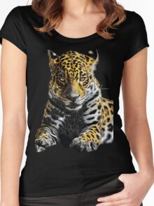 Animals/Tiger Women's Fitted Scoop T-Shirt