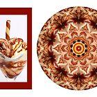 Kaleidoscope of Chocolate Icecream swirl by fantasytripp