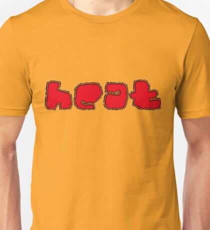 Hot Stuff Font Unisex T-Shirt