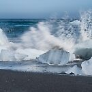 The end of the berg, Jokulslaron Iceland by Cliff Williams