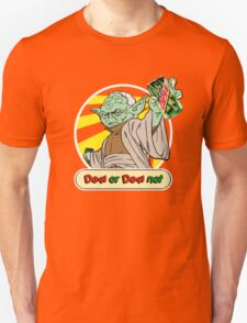 Dew or Dew Not - Yoda - White Boarder T-Shirt