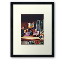 The Simpsons Toy Collection Framed Print