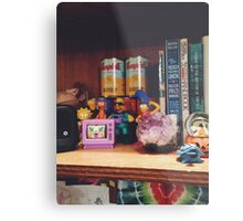 The Simpsons Toy Collection Metal Print